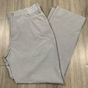 Adidas Travel Stretch Light Gray Pants size 34x32